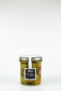 Velké zelené olivy Bella di Cerignola De Carlo 330 g title=