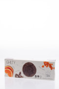 Biscuits with chocolate and oranges, Mondo di Laura 130g  title=